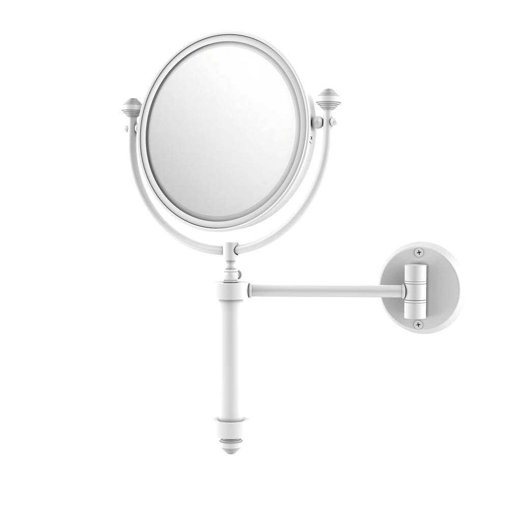 Bathroom Accessories Magnifying Mirrors White | Monique\'s Bath ...