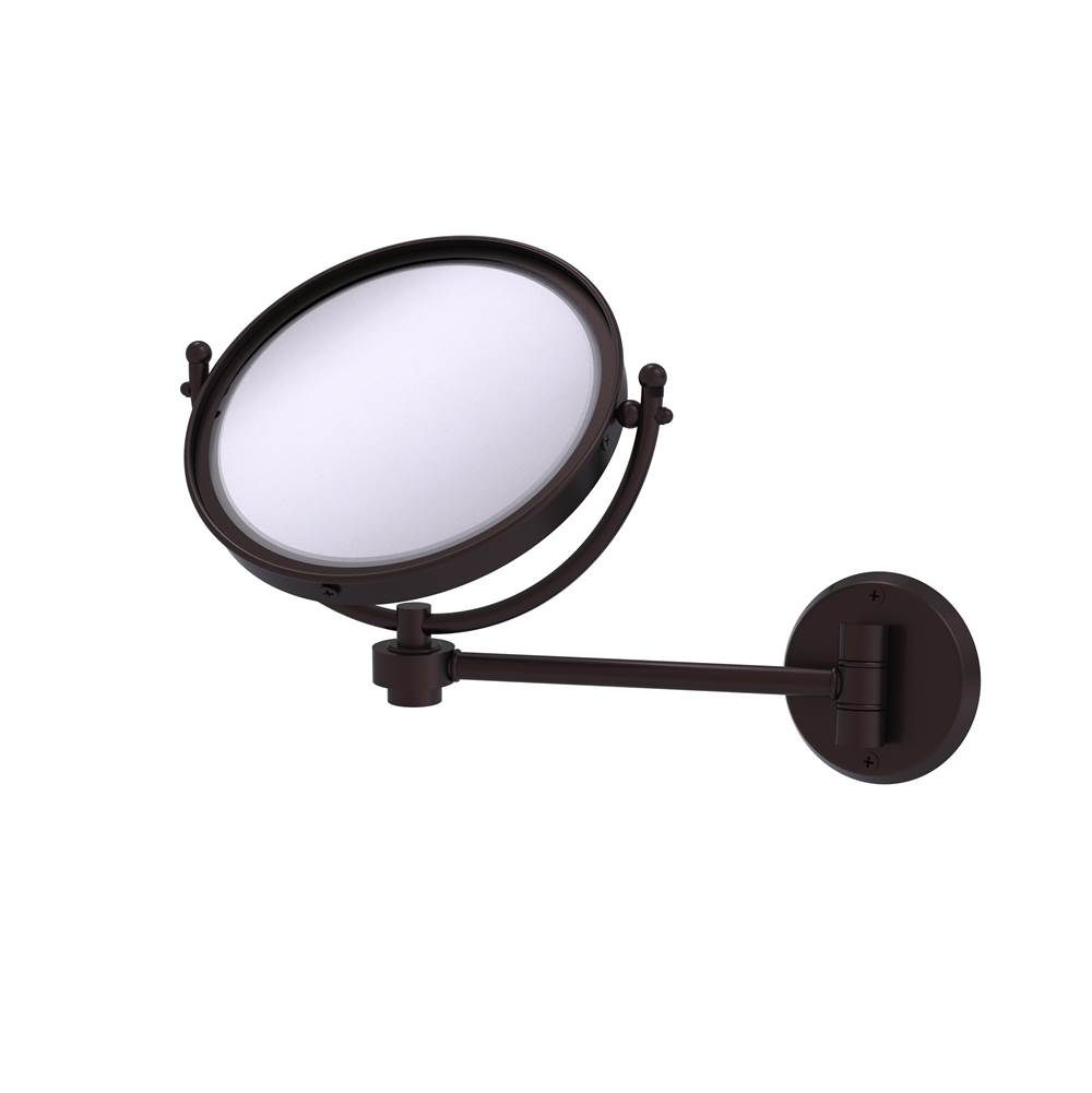 Allied Brass   WM 5/3X ABZ   8 Inch Wall Mounted Make Up Mirror 3X  Magnification
