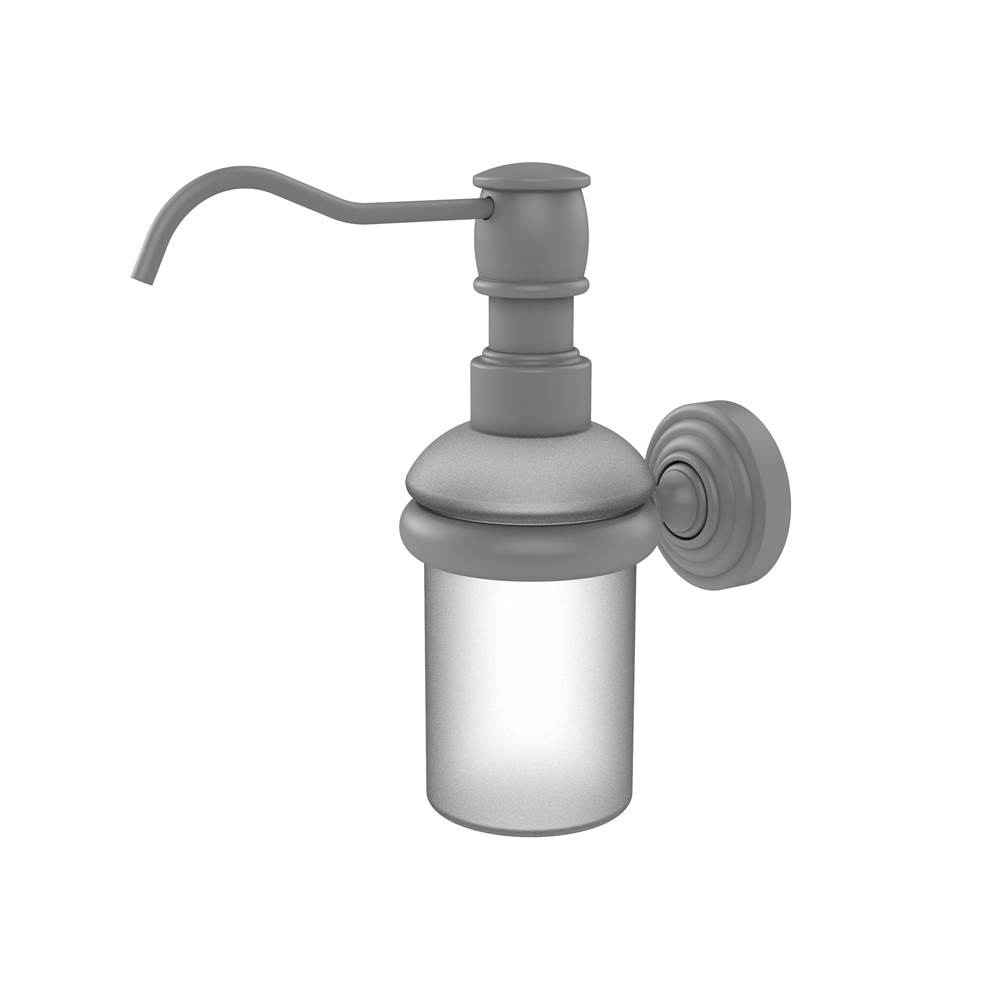 Allied Brass   WP 60 GYM   Waverly Place Collection Wall Mounted Soap  Dispenser