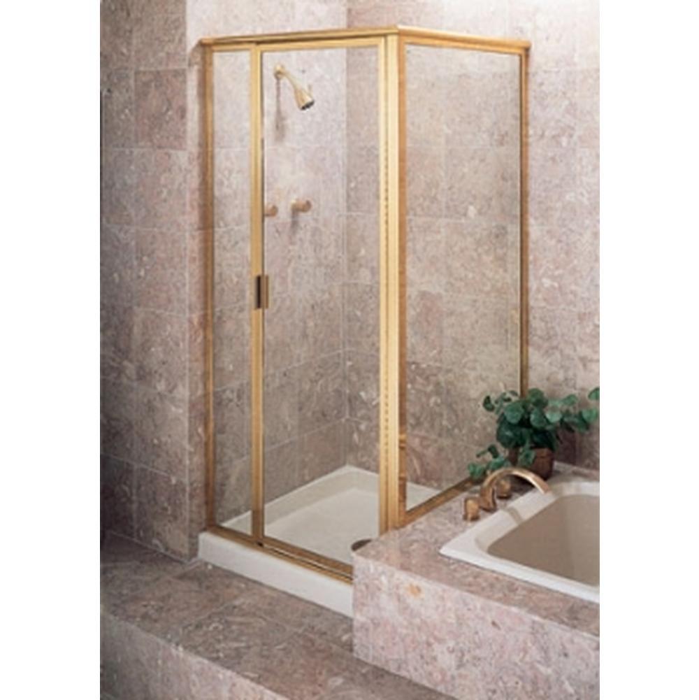 Bathroom Shower Enclosures Gold Tones   Monique\'s Bath Showroom ...