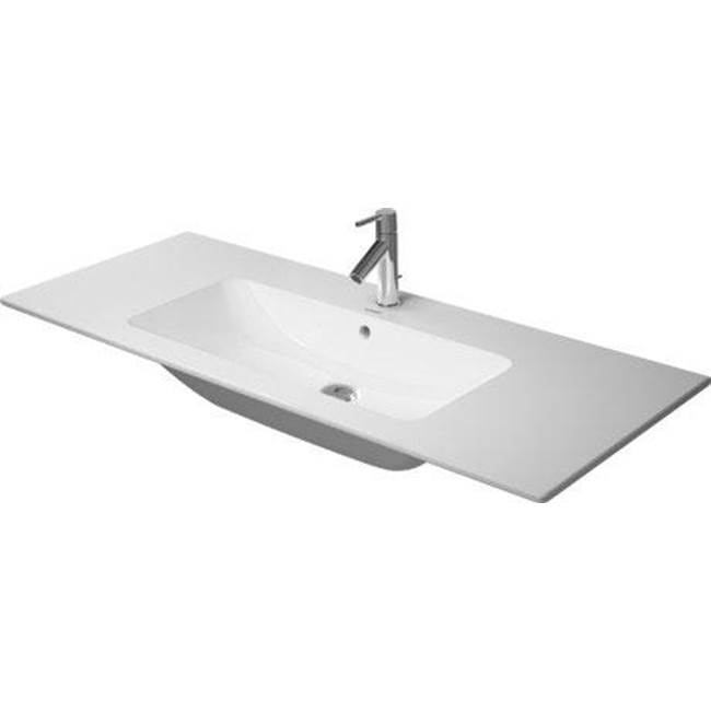 Duravit   23361200001   Furniture Basin 1230mm ME By STARCK White, With OF,  With TP, 1 TH, WG