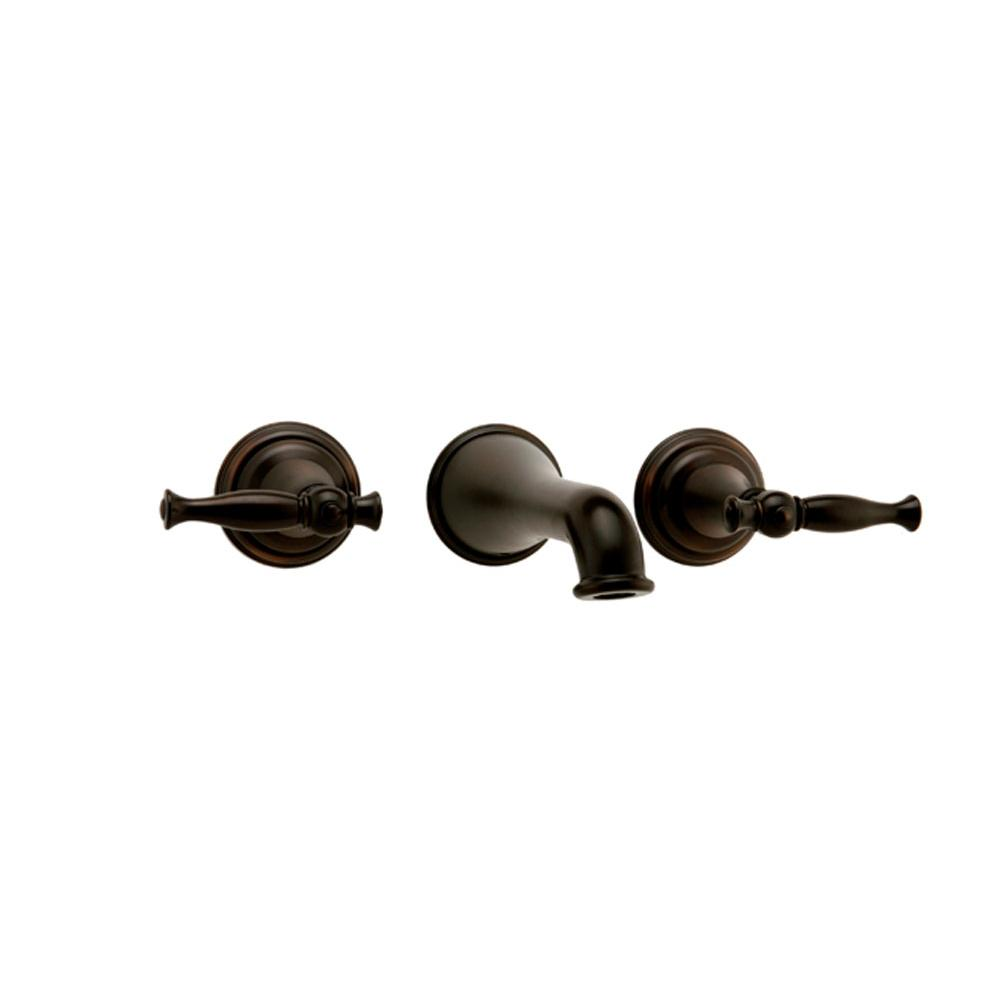 Graff Wall Mounted Bathroom Sink Faucets item G-2430-LM22-OB